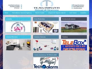 Impianti Antifurto Tecnoalarm Milano